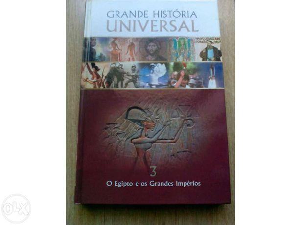 Livro grande história universal  Egipto e os grandes impérios