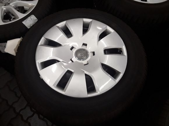 Koła felgi stalowe AUDI A3 a4 a6 VW SEAT SKODA 5x112 +opony 205/60r16!