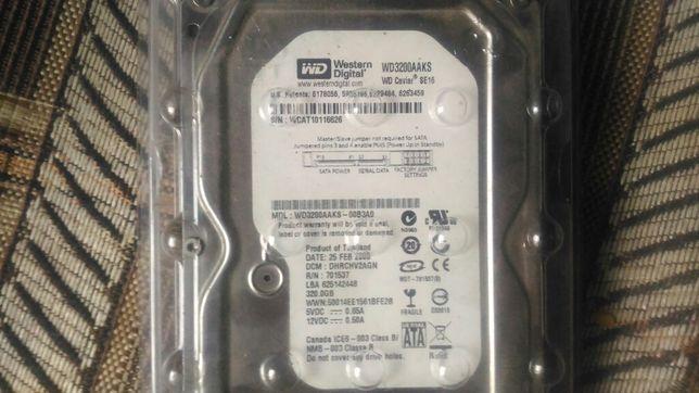 Жёсткий диск HDD WD 320 GB SATA