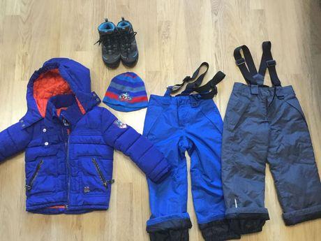 Комплект зимней одежды для ребенка 4-5 лет. Цена - 1000 грн.!