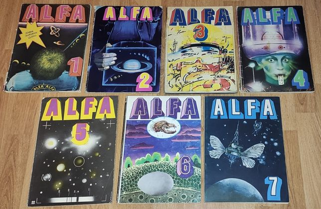 ALFA. Komplet 7 komiksów.