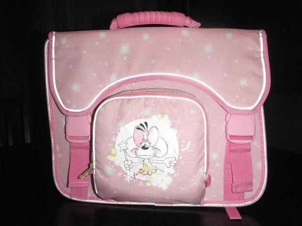 Usztywniany tornister Plecak dla dziewczynki Różowy Didl