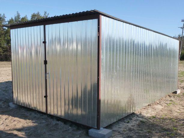 Garaż blaszany Schowek Magazyn na budowę NAJTANIEJ