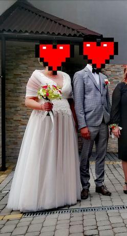 Sprzedam suknię ślubną r.50,52