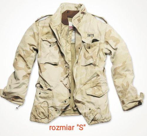 Kurtka wojskowa,Regiment M65 Jacket Surplus-pustynna burza, rozmiar S