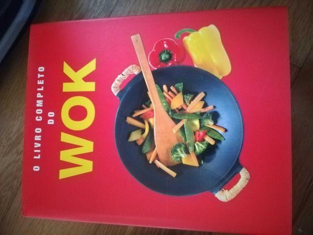 Livro de cozinha wok