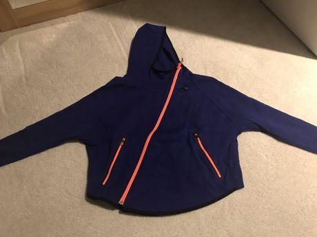 Damska bluza z kapturem nike S fioletowa