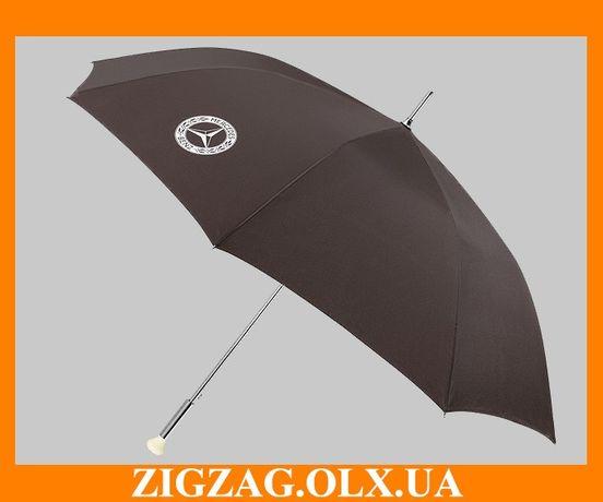 Зонт трость Мерседес Оригинальный зонт Mercedes Benz зонтик парасоля