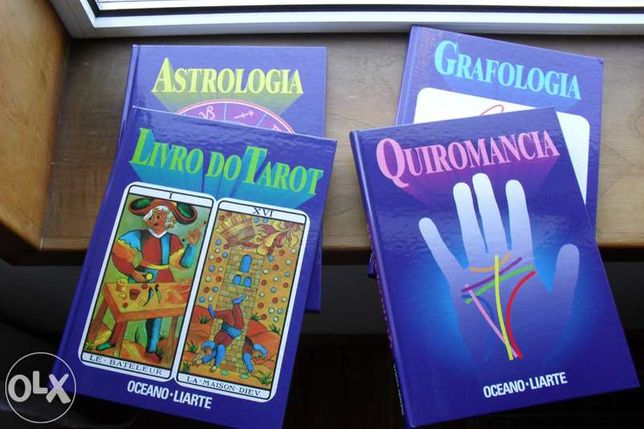 Coleção de 4 livros (novos)