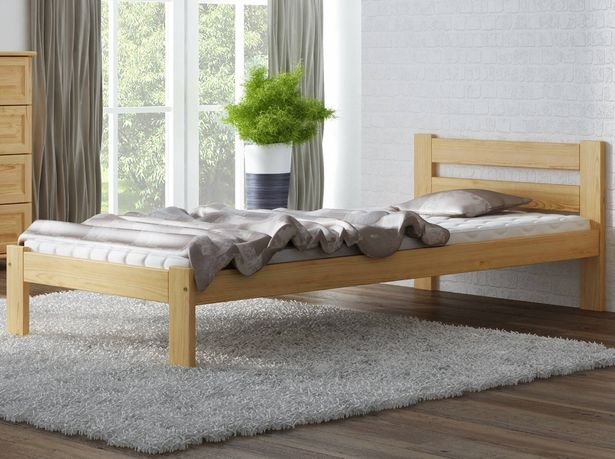 Meble Magnat łóżko drewniane sosnowe Mato 90 różne wymiary kolory
