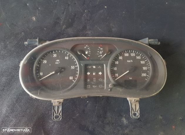 Quadrante Opel Vivaro / Renault Trafic 1.9 Cdti 2004 Ref. P8200006339