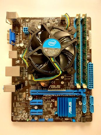 Conjunto / Bundle - CPU Intel i5 + Board Asus + 4GB DDR3
