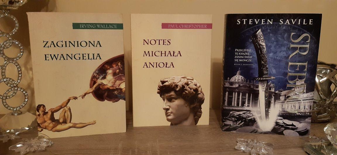 Zestaw książek Srebro, Notes Michała Anioła, Zaginiona Ewangelia