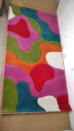 Kolorowy dywanik do pokoju dziecięcego 80x150