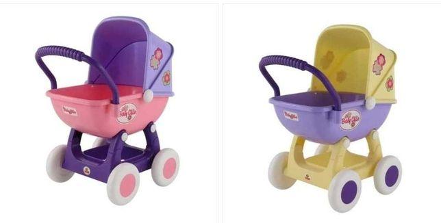 Wózek dla lalek bobasy Głęboka Gondola