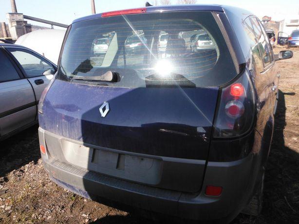 Renault Grand Scenic II 2,0 klapa tylna, części FV transport dostaw
