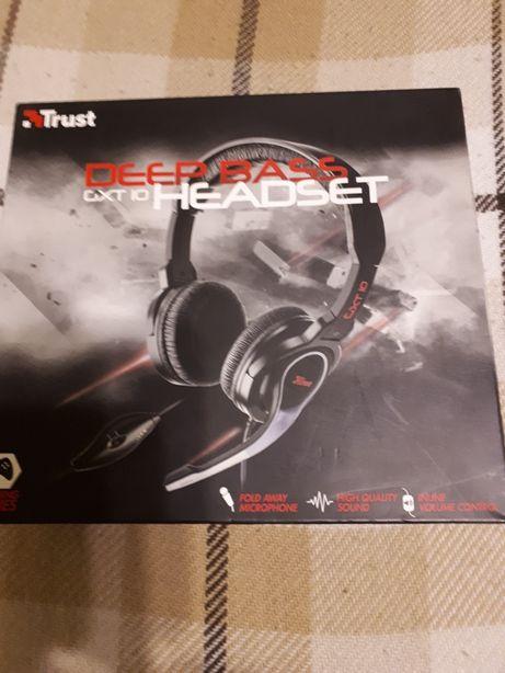 Słuchawki dla gracza NOWE - Trust CXT 10