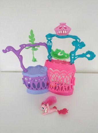 Podwodny zamek koników Pony z Pinkie Pie