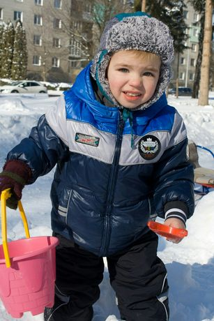 Зимова куртка та комбінезон на 3 роки