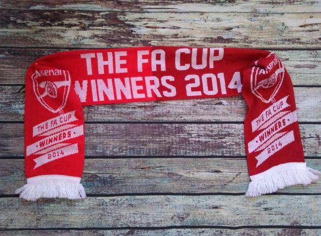 Шарф футбольный Arsenal London Арсенал