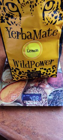 Yerba Mate Wild Power Lemon