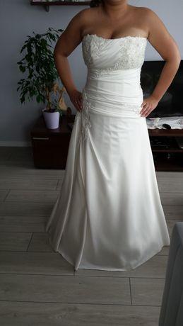 Suknia ślubna ecru rozm. 42