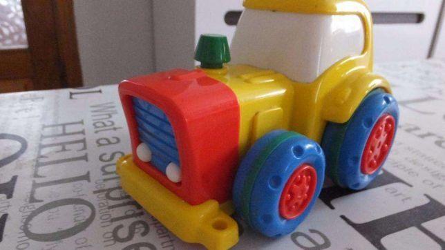 Игрушечный инерционный трактор Jackpot