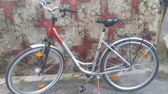 Продам немецкий алюминьевый женский велосипед