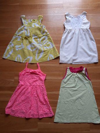 Markowe ubrania na lato dziewczynka 110