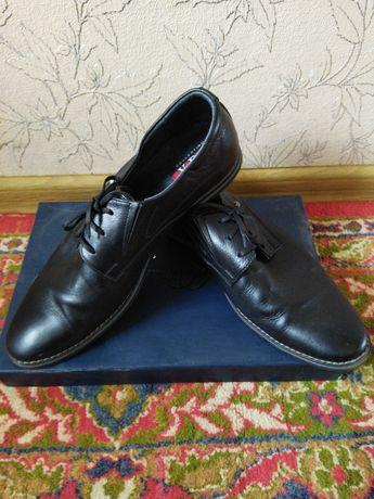Чоловічі шкіряні туфлі 44-го розміру