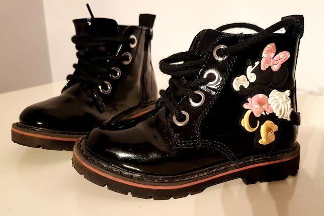Buty kozaki dla dziewczynki r. 21 H&M jak NOWE!!!