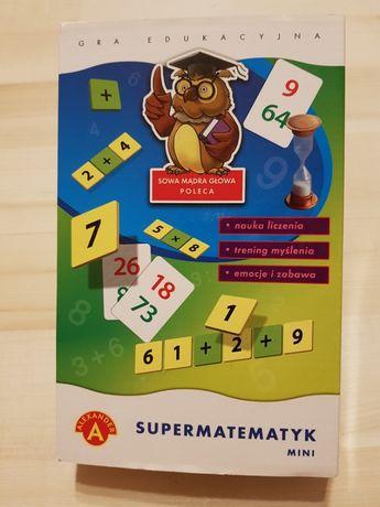 Gra edukacyjna Supermatematyk
