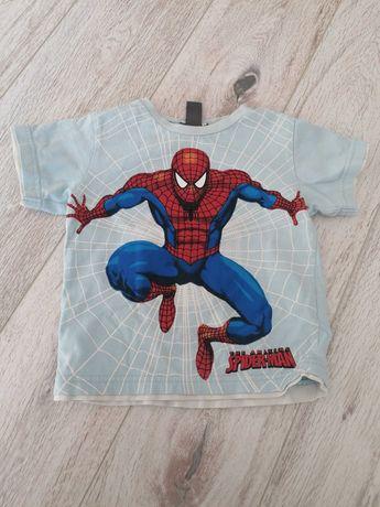 Podkoszulek koszulka bluzeczka Spider-Man 86 92 t-shirt H&M