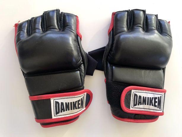 Nowe Skórzane rękawice Daniken do MMA rozm L