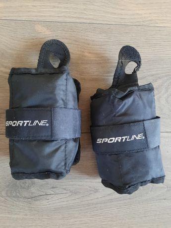 Hantle cieżarki na ręce nogì Sportline