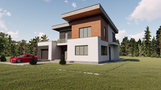 Проект дома со свайным фундаментом сваи