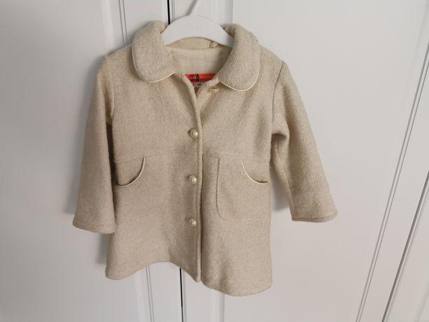 Płaszcz 86 złoty AMS jesienno zimowy