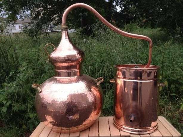 Alambique em cobre 50 litros