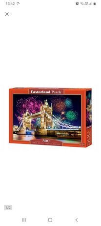 Puzzle 500 el. Tower Bridge Londyn