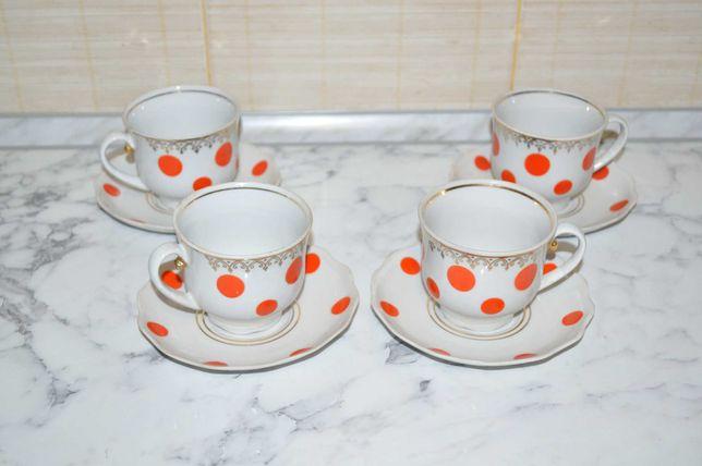 Чайные сервизы, чайные пары, разная посуда