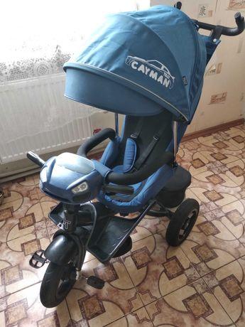 Велосипед триколісний TILLY CAYMAN (Т-381/7 Синій)