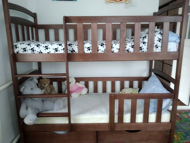 Детская мебель кровать двухъярусная - кроватка