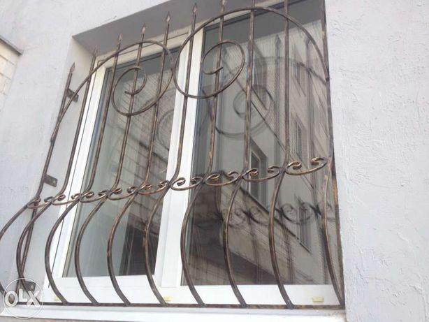 Решетки на окна. Изготовление и монтаж.