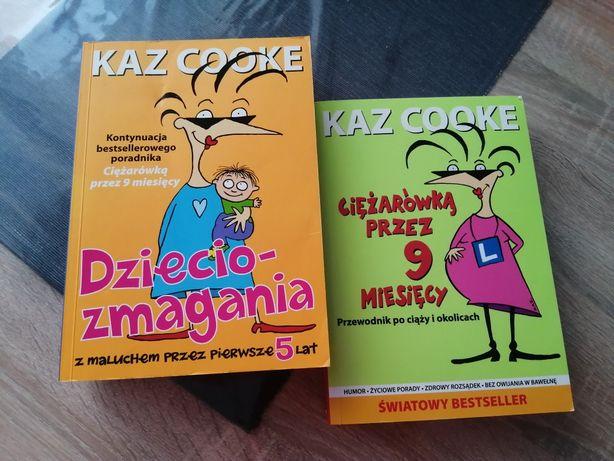 Kaz Cooke Dzieciozmagania i Ciężarówką przez 9 miesięcy - książki