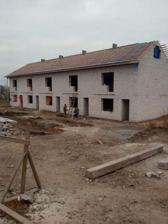 Кладка газбетона,пеноблока,кирпича,шлакоблока,построим дом под ключ