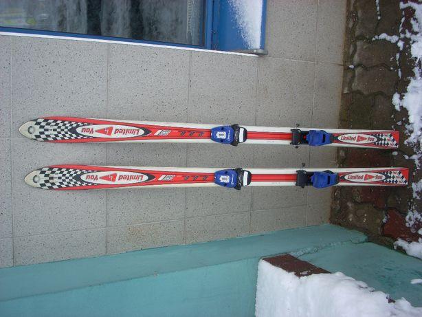 Narty zjazdowe 140cm