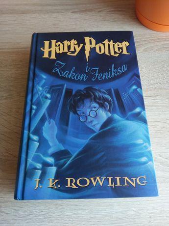 NOWA Harry Potter i Zakon Feniksa Rowling twarda oprawa okładka