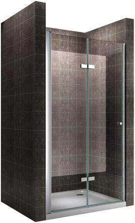 Porta de duche de vidro transparente — DK822