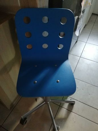 Krzesła ikea dla dzieci niebieskie 2 sztuki