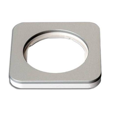 Berker R.1 Aluminium - ramka pojedyncza